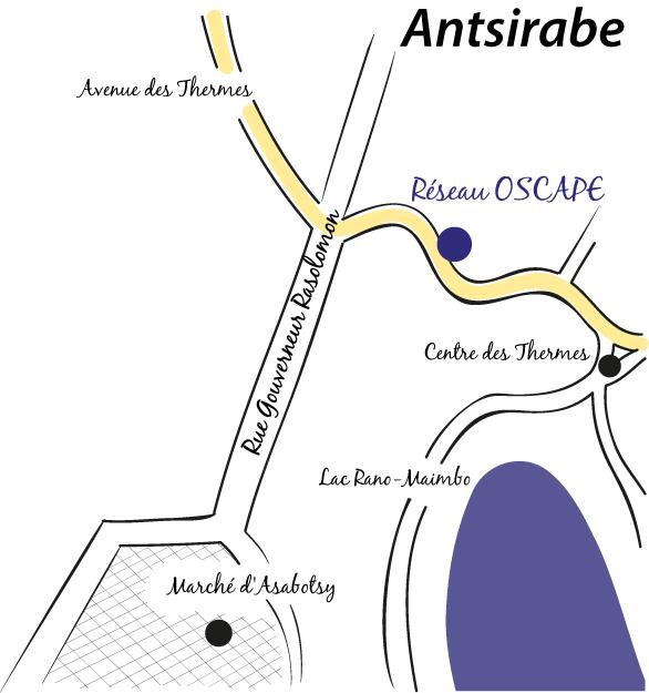 Plan d'accès bureau OSCAPE