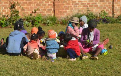 Visite du Centre de Nutrition Mahereza