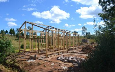 Visite du chantier de l'association Manorina