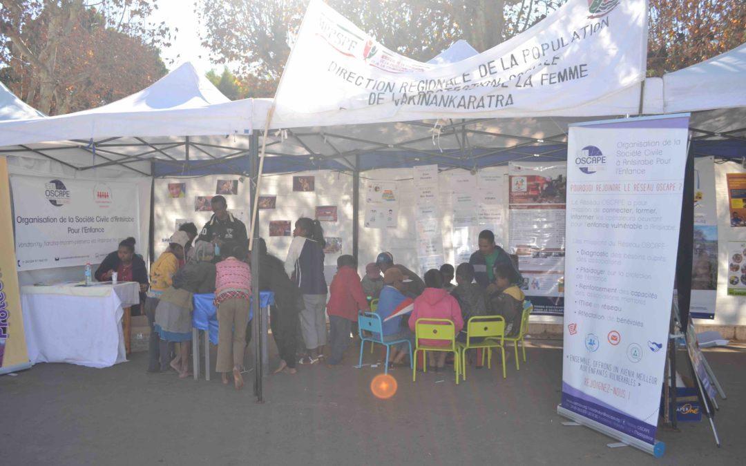 Le Réseau OSCAPE aux Journées Nationales de la Nutrition du Vakinankaratra